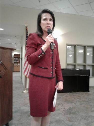 Guest Speaker Justice Marialyn Barnard of the Texas 4th Court of Appeals